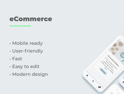 Professional eCommerce website