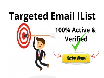 Collect niche B2B 1000 targeted email list