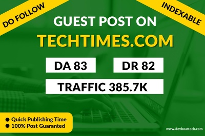 providing Guest Post on TechTimes