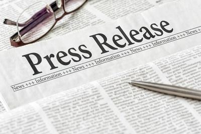 Press release on 550 media publication
