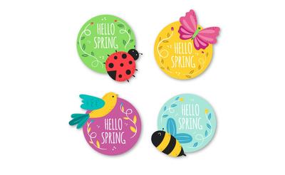 Design  3 labels/badges for social media|website|promotion