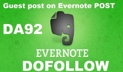 write and Publish Guest Post On Evernote.com DA93 with Dofollow