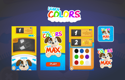 Design complete game User Interface UI at best quality