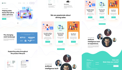 Design your homepage (PSD / AI or Sketch)