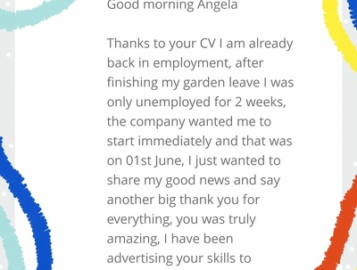 A CV & Cover Letter with unlimited edits