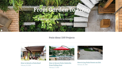 Write and Publist Guest Post On My Garden, Patio & Outdoor Blog