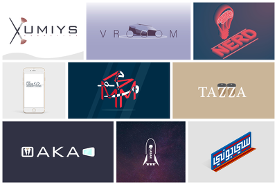 Design an attractive logo for your brand