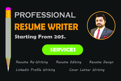 Professionally Rewrite & Redesign your ATS CV/Resume in 1 Day