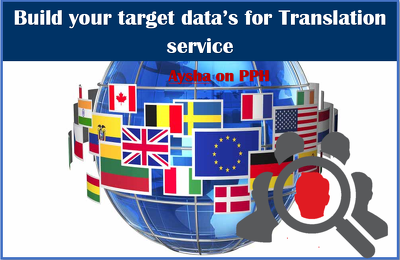 Build 2000 target datalist for Translation agencies