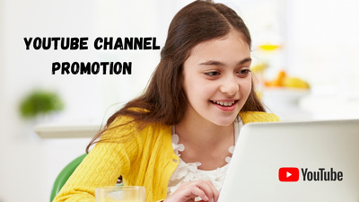 Promote YouTube Channel,video,and Guarantee 300 Real Subscriber