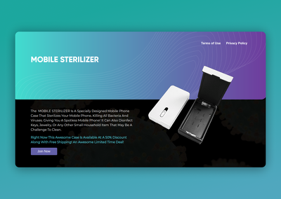 Develope a clean and modern website