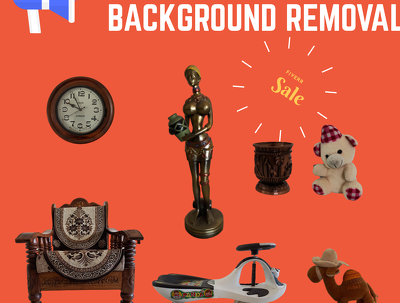 Remove amazon product background of 65 images