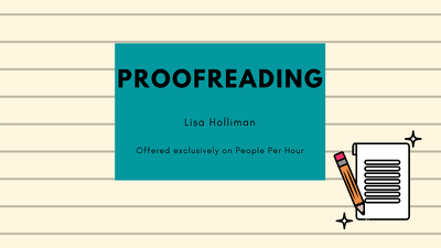 Proofread 1000 words of any written content