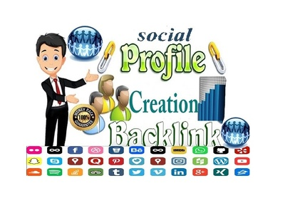 high Quality Do Follow 100 social profile creation SEO Backlinks