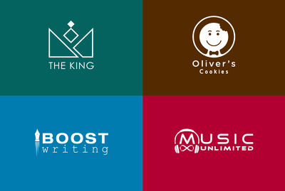 Design professional logo + business card with unlimited revision