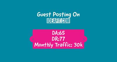 Health & Fitness Guest Post on Ideafit | DA:65