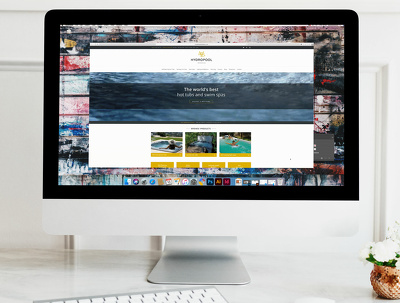 Redesign your website homepage (PSD only)
