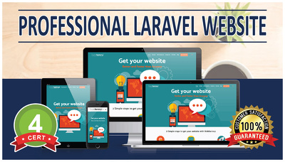 Design & Develop LARAVEL 6 Pages Website - SEO Friendly