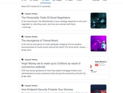 Publish on HIGH DA and Google News websites