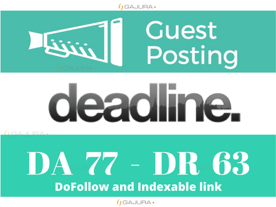 Guest Post on Deadlinenews.co.uk, DeadlineNews