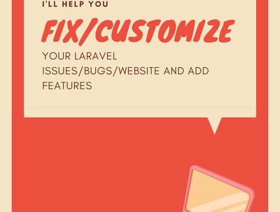 fix and customize your laravel project