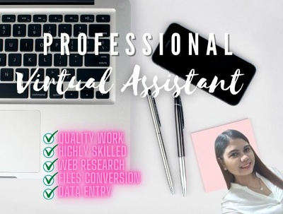 help you in administration as a Virtual Assistant for an hour