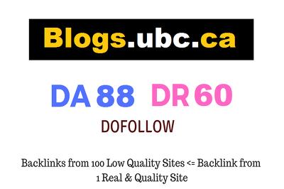 Guest Post on University British Columbia - ubc.ca - DA88 DR60