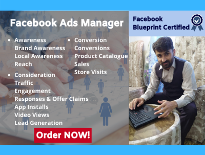 Create, optimize, manage and fix your facebook ads for 5 x days