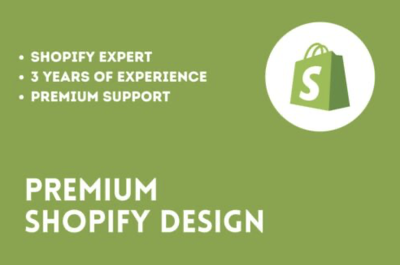 Do a Dropshipping Shopify Store Design - High Converting Store