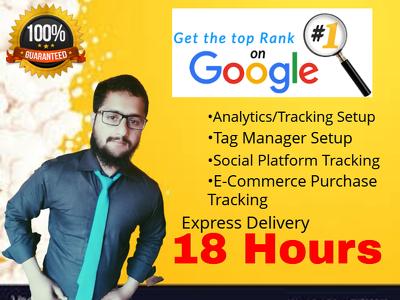 Install google analytics on your website