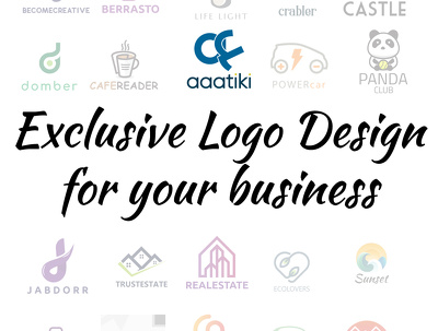 Design a Exclusive Logo Design for your business