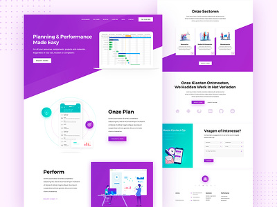 design a Creative web template