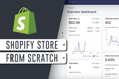 Provide a shopify selling store