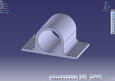Design 2D in AutoCAD or 3D Modeling in Catia .