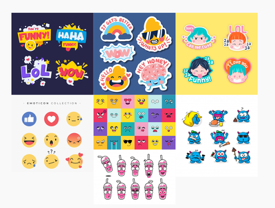 Make custom  10  emojis/stickers | unlimited revisions