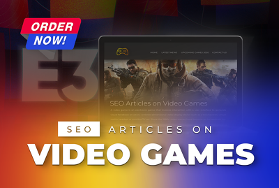 Write 500 words SEO friendly article on video games