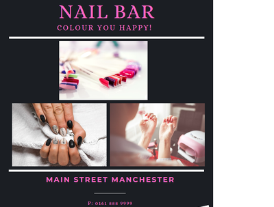Create a bespoke flyer for your business (1 page)