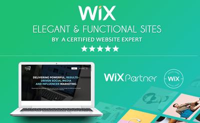 Design wix website