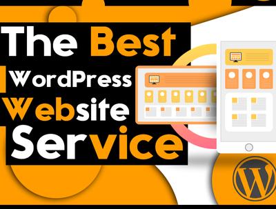 create Wordpress Website ,Design , SEO friendly,Pro Service