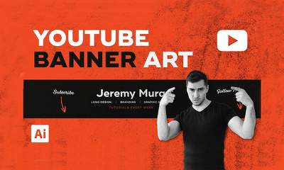 Design awesome youtube banner in 24 hours