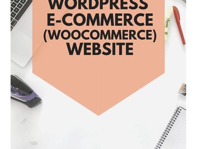 Help you design a WordPress eCommerce (WooCommerce) website
