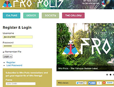 Website Design using Wordpress - Masters Graduate