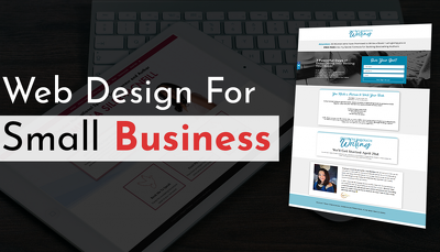 Provide a website for a small business