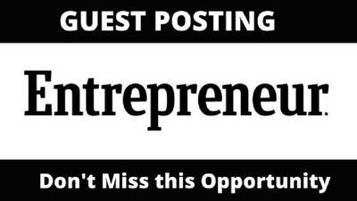 publish Guest Post on Entrepreneur, Entrepreneur.com (DA 92)