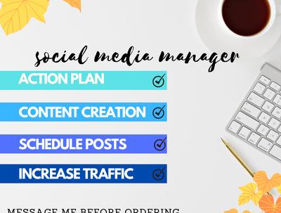 Your social media marketing marketing manager