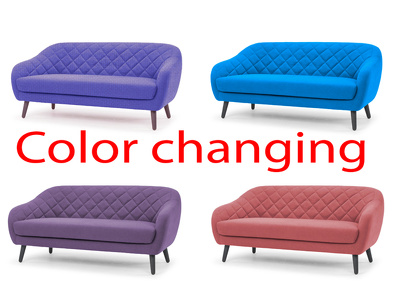 Image color change / color replace and color correctiion service