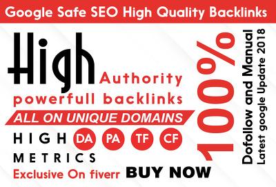 Do 85 pr10 seo backlinks to increase domain authority