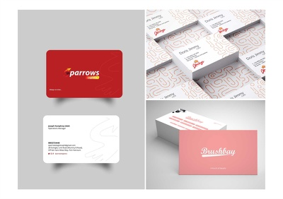 Create a Professional corporate business card