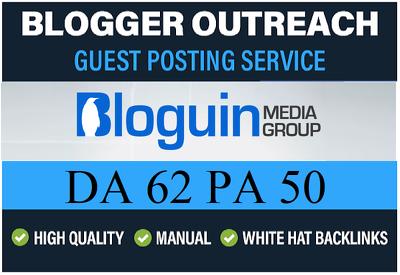 Add A HQ Dofollow Guest Post on Bloguin.com - DA 62 PA 50