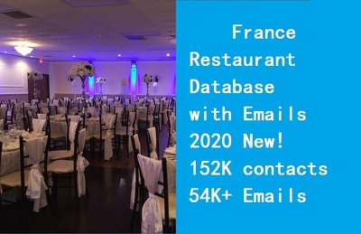 Provide France restaurant database include email phone